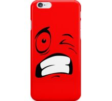 Funny face iPhone Case/Skin