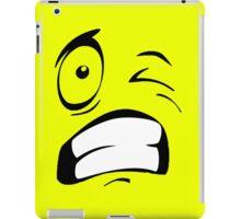 Funny face iPad Case/Skin