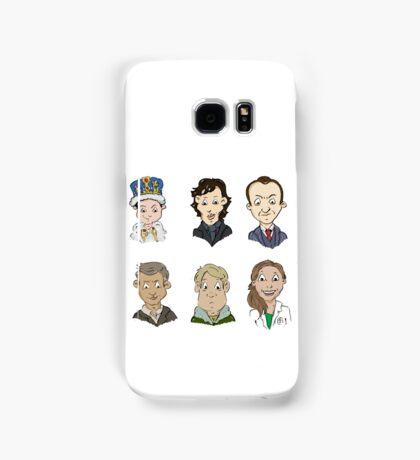 Sherlock Holmes cast Samsung Galaxy Case/Skin