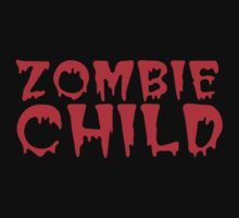 ZOMBIE CHILD  One Piece - Short Sleeve