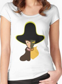 LeChuck Human vs Undead Women's Fitted Scoop T-Shirt