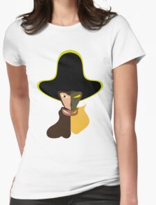 LeChuck Human vs Undead Womens Fitted T-Shirt