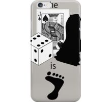 As Sherlock Holmes Would Say... iPhone Case/Skin