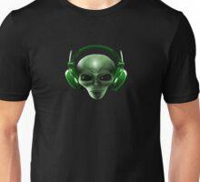 Alien Headphones Unisex T-Shirt