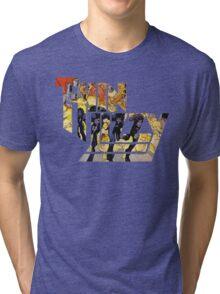 TIN LIZZY JAILBREAK Tri-blend T-Shirt