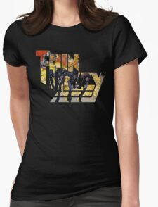 TIN LIZZY JAILBREAK Womens Fitted T-Shirt