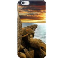 Sunset on the Island iPhone Case/Skin