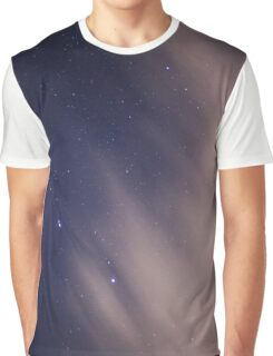 Blue Starry Skies Graphic T-Shirt