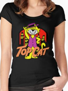 TOP CAT Women's Fitted Scoop T-Shirt