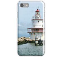 Delaware Bay Lighthouse iPhone Case/Skin