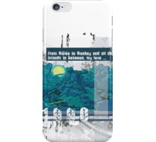 "Monkey Island's: ""From Mêlée to Monkey and all the islands in between, my love..."" iPhone Case/Skin"
