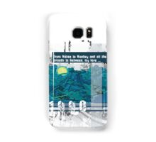 "Monkey Island's: ""From Mêlée to Monkey and all the islands in between, my love..."" Samsung Galaxy Case/Skin"