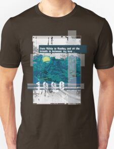 """Monkey Island's: """"From Mêlée to Monkey and all the islands in between, my love..."""" T-Shirt"""