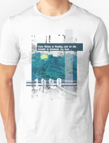 """Monkey Island's: """"From Mêlée to Monkey and all the islands in between, my love..."""" Unisex T-Shirt"""