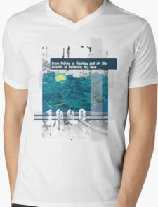 "Monkey Island's: ""From Mêlée to Monkey and all the islands in between, my love..."" Mens V-Neck T-Shirt"