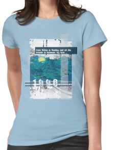"""Monkey Island's: """"From Mêlée to Monkey and all the islands in between, my love..."""" Womens Fitted T-Shirt"""