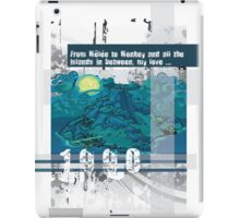 "Monkey Island's: ""From Mêlée to Monkey and all the islands in between, my love..."" iPad Case/Skin"