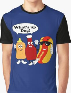 What's Up Dog Graphic T-Shirt