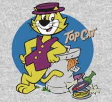 TOP CAT : CARTOON One Piece - Long Sleeve