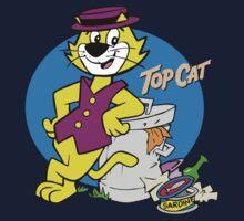 TOP CAT : CARTOON Baby Tee