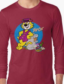 TOP CAT : CARTOON Long Sleeve T-Shirt