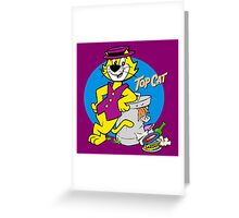 TOP CAT : CARTOON Greeting Card