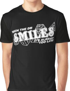 When the DM Smiles Graphic T-Shirt