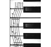 Piano Keys of the Heart by VampicaX