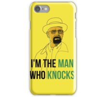 the man who knocks iPhone Case/Skin