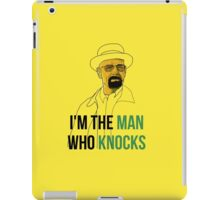 the man who knocks iPad Case/Skin