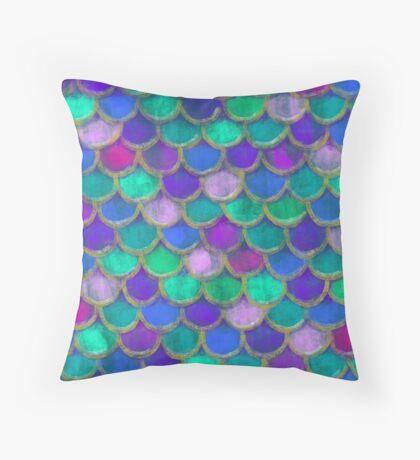 Mermaid Tail Throw Pillow