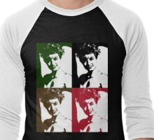 Twin Peaks Laura Palmer Warhol Pop Art Men's Baseball ¾ T-Shirt