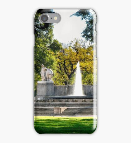 Plaza Alemania, Buenos Aires iPhone Case/Skin