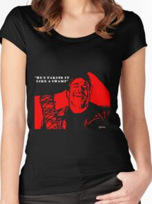 """Negan """"Taking it like a champ"""" Women's Fitted Scoop T-Shirt"""