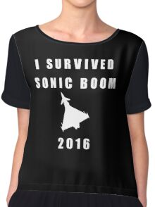 I survived Sonic Boom 2016 Chiffon Top