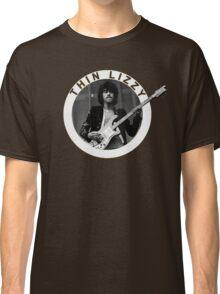 THIN LIZZY PHIL LYNOTT (WHITE) Classic T-Shirt