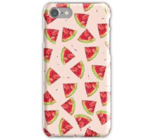 Watermelon Juicy Fruit Tasty Summer Pattern iPhone Case/Skin