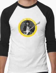 THIN LIZZY PHIL LYNOTT (YELLOW) Men's Baseball ¾ T-Shirt