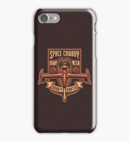 Space Cowboy - Bounty Hunter iPhone Case/Skin
