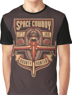 Space Cowboy - Bounty Hunter Graphic T-Shirt