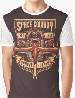 Space Cowboy - Bounty Hunter Graphic T-Shirt