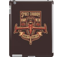 Space Cowboy - Bounty Hunter iPad Case/Skin