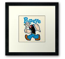 SAILOR MAN Framed Print