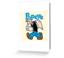 SAILOR MAN Greeting Card
