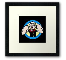 TOUGH GUY : POPEYE Framed Print