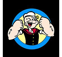 TOUGH GUY : POPEYE Photographic Print