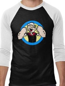 TOUGH GUY : POPEYE Men's Baseball ¾ T-Shirt