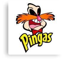 PINGAS : PARODY Canvas Print