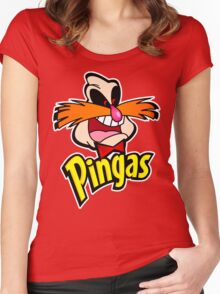PINGAS : PARODY Women's Fitted Scoop T-Shirt