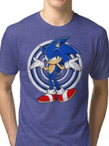 SONIC : WHAT YOUR PROBLEM? Tri-blend T-Shirt